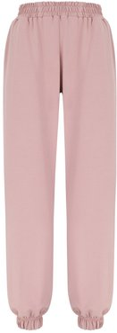No.2 Oversize Dirty Pink Cotton Sweatpants