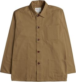 The 3001 Buttoned Over Shirt - Khaki