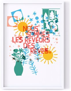 We Are The Dreamers Of Dreams Print