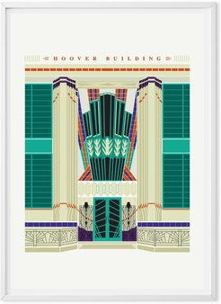 The Hoover Building Art Print Poster