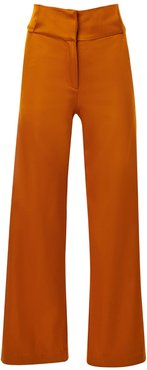 Cognac High Waisted Pants