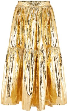 Eidothea Skirt In Disco Gold