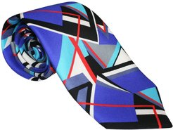 The Abstract Tie Red