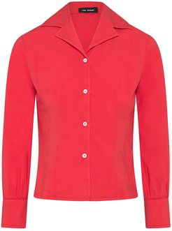 Femme Fatale Shirt In Rosso