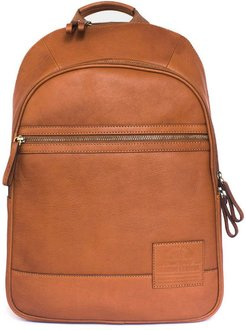 Alps Backpack Tan Leather