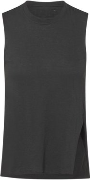Anna Sleeveless Tee In Anthracite