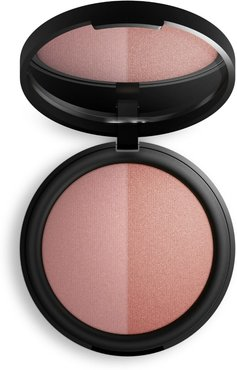 Mineral Baked Blush Duo - Burnt Peach