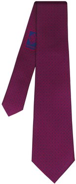 Iconic Tie Red Navy