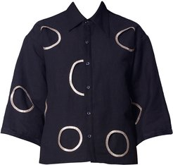 Linen Shirt With Holes
