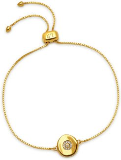Coin Slider Bracelet Gold