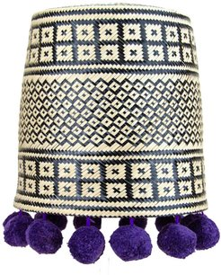 Pepita Lampshade Purple