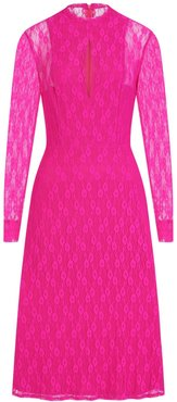 Amelie Lace Dress In Pink