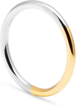 Golden Ratio Band - Recycled 9K Yellow Gold & Silver