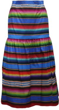 Dusk Skirt In Marfa Sunset Print