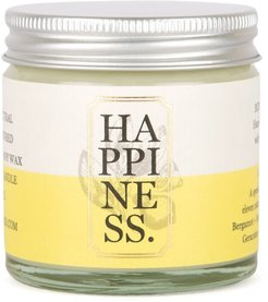 Happiness Aromatherapy Rapeseed & Soy Candle Travel Size