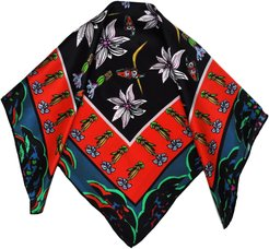 Wild Flower Valley Silk Neck Tie