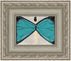 Blue Butterfly Fairy Fine Art Print Limited Edition