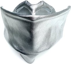 Face Mask Silver Organic Cotton With Dwr