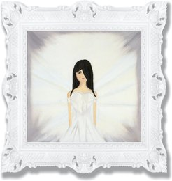 White Heart Of Pure Light Sustainable Fine Art Print Limited Edition