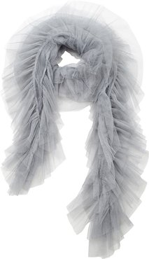 Tulle Scarf Dove Grey