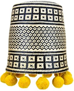 Pepita Lampshade Yellow