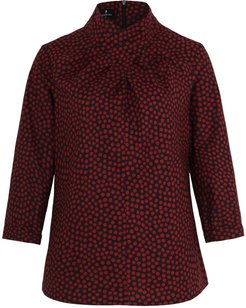 Fiona Blouse Dotted