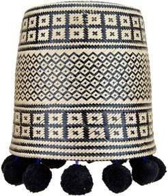Pepita Lampshade Black
