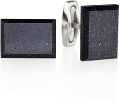 Falcon Concrete & Surgical Steel Cufflinks Anthracite