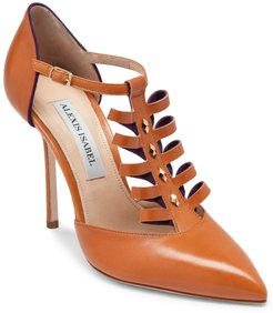 Alter Ego Tan Leather High Heels