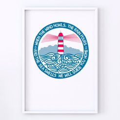 We Will Guide You - Lighthouse Print