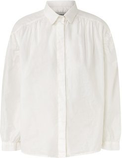 Carine Voile Shirt With Shirt Collar