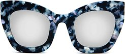 Ambitious Blue Marble Frame + Mirrored Lenses