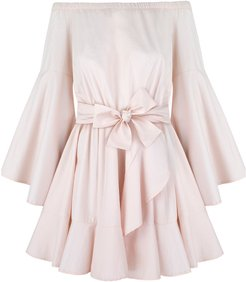 Melody Flared Pink Dress