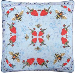 Hopsack Cushion Cover - The Strawberry Garden