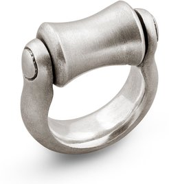Roller Ring in Sterling Silver