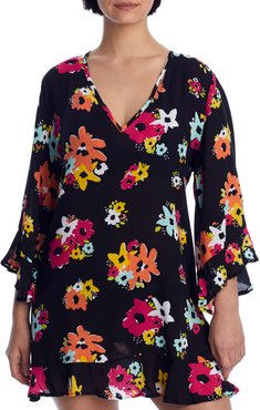 Island Bloom Flounce Tunic