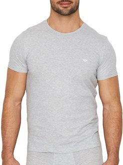 Pure Cotton Crew Neck T-Shirt 3-Pack