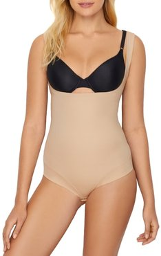 Extra Firm Control Open-Bust Bodysuit