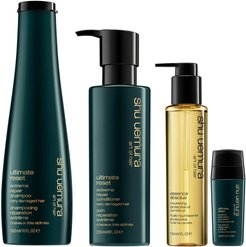 The Complete Strength and Shine Regime for Damaged Hair