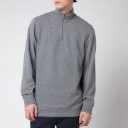 Rebal 1/4 Zip Sweatshirt - Grey Marl
