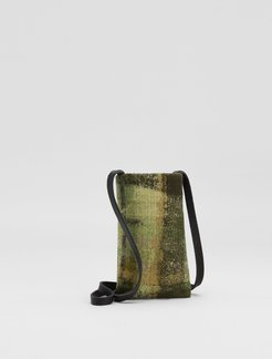 Waste No More Felted Phone Pouch