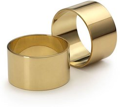 Solid Brass Napkin Rings