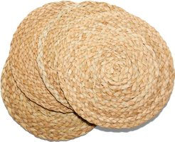 Seagrass Braided Placemats, Set Of 4 in Natural