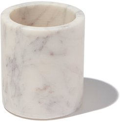 Marble Petite Canister in White