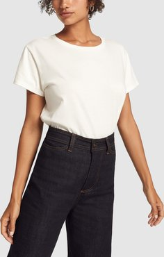 Easy Tee in White, X-Small