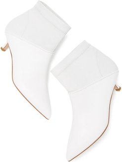 Jean Boots in White, Size IT 36