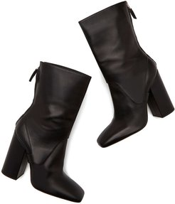 Square Boots in Black, Size IT 36