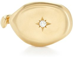Colony I Ring in Yellow Gold/Diamonds, Size 6.5
