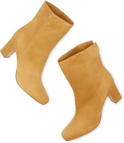 Lela Boots in Luggage Kidsuede, Size IT 36