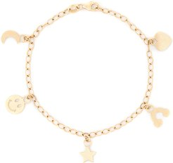 Charming Bracelet in Yellow Gold